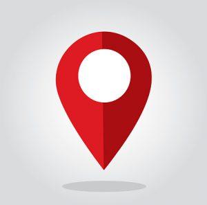 Location icon symbol vector